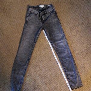 Frame stretch skinny jeans